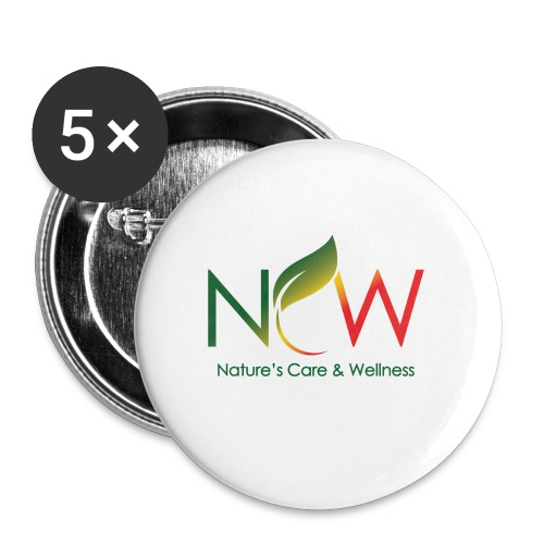 Ncw Small Logo - Buttons small 1'' (5-pack)