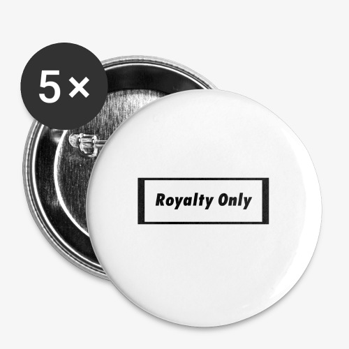 Royalty Only Original Merch - Buttons small 1'' (5-pack)
