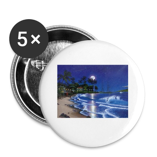full moon - Buttons small 1'' (5-pack)