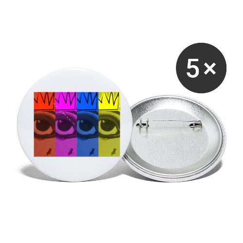 Eye Queen - Buttons small 1'' (5-pack)