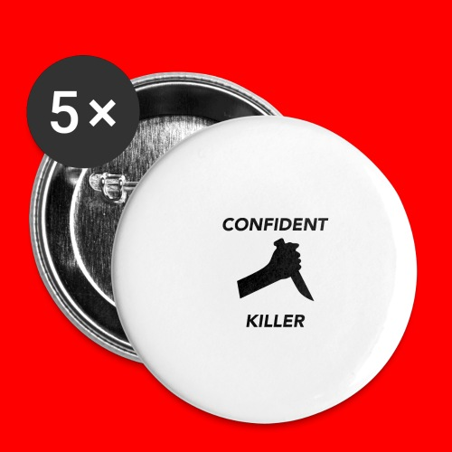 OxyGang: Confident Killer Products - Buttons small 1'' (5-pack)