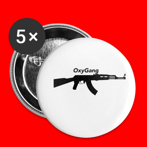 OxyGang: AK-47 Products - Buttons small 1'' (5-pack)