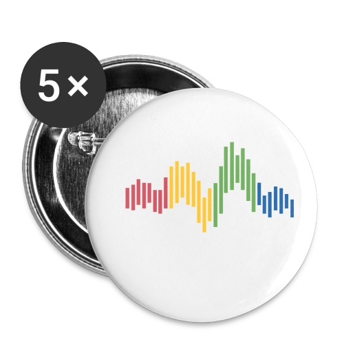 QuantEcon Official Logo #2 - Buttons small 1'' (5-pack)