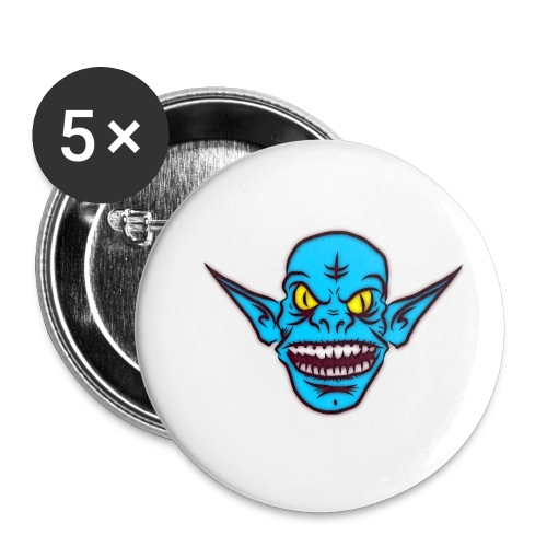 Troll - Buttons small 1'' (5-pack)