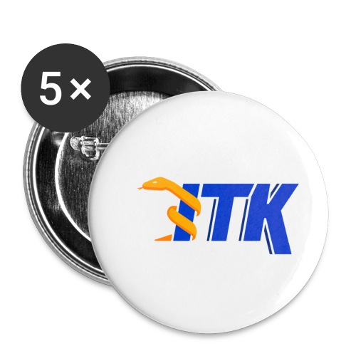 ITK logo - Buttons small 1'' (5-pack)