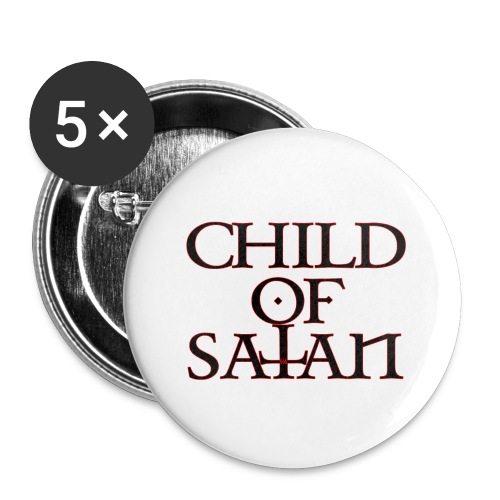 Child Of Satan - Buttons small 1'' (5-pack)