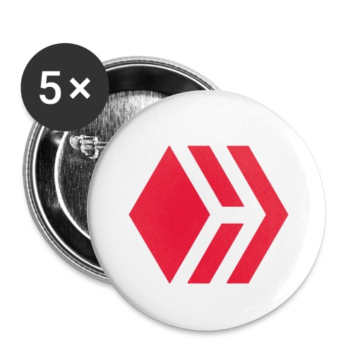 Hive logo - Buttons small 1'' (5-pack)