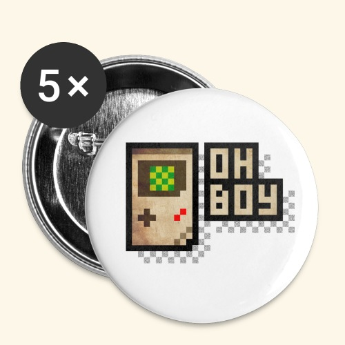 Oh Boy - Buttons small 1'' (5-pack)