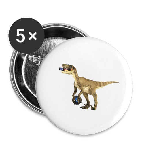 amraptor - Buttons small 1'' (5-pack)