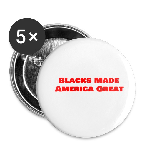 (blacks_made_america1) - Buttons small 1'' (5-pack)