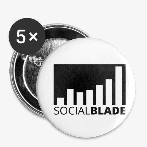 SB Blackout Logo - Buttons small 1'' (5-pack)