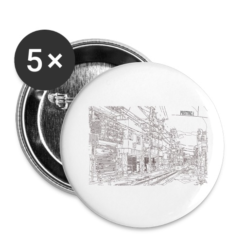 StreetLines - Buttons small 1'' (5-pack)