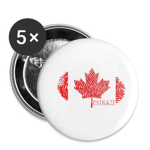 Canadian Identity - Buttons small 1'' (5-pack)