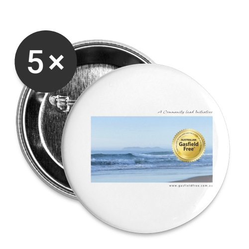 Beach Collection 1 - Buttons small 1'' (5-pack)