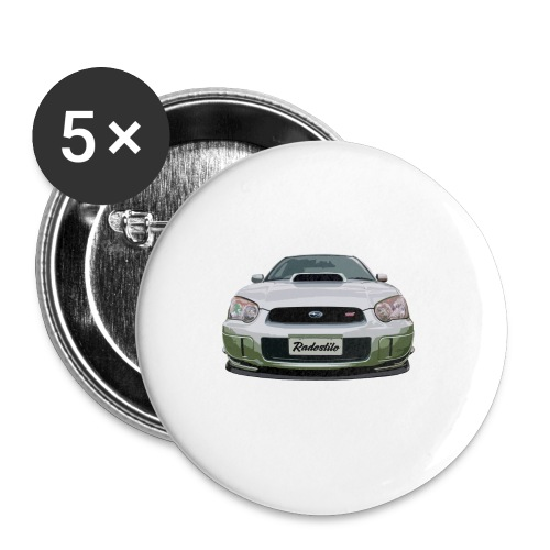Subaru WRX Second Generation - Buttons small 1'' (5-pack)