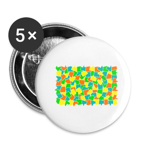 Dynamic movement - Buttons small 1'' (5-pack)