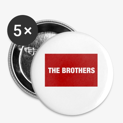 The Brothers - Buttons small 1'' (5-pack)