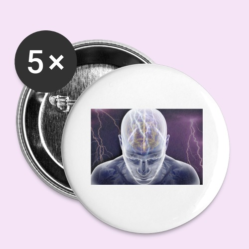 Brain storm - Buttons small 1'' (5-pack)