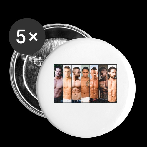 Hong Kong 2018 BILLBOARD - Buttons small 1'' (5-pack)