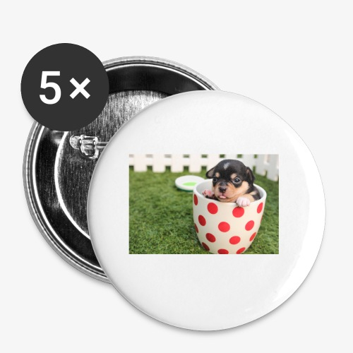chihuahua dog - Buttons small 1'' (5-pack)