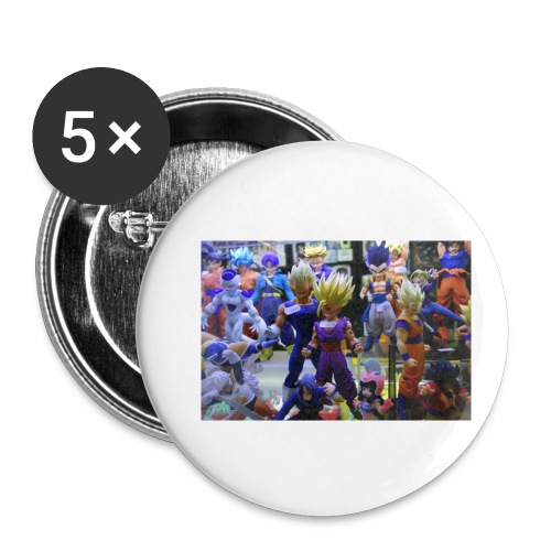 cartoons - Buttons small 1'' (5-pack)