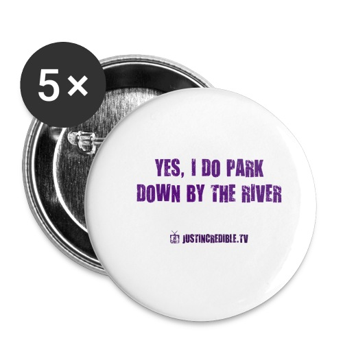 Down by the river - Buttons small 1'' (5-pack)