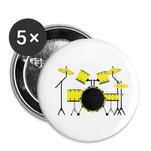 Yllw Drm St - Buttons small 1'' (5-pack)