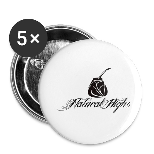 Natural Highs - Buttons small 1'' (5-pack)