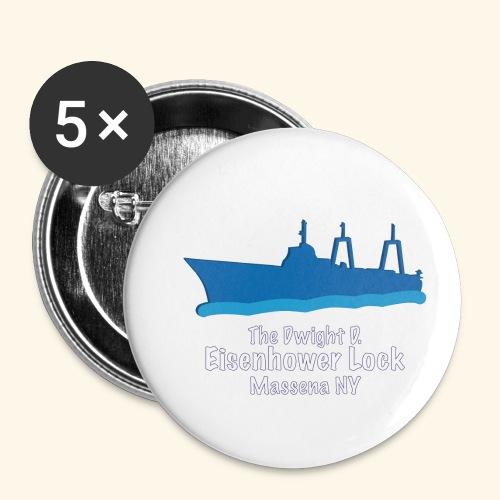 Eisenhower Lock Blue - Small Buttons
