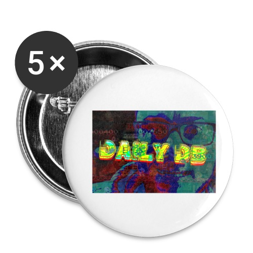 daily db poster - Buttons small 1'' (5-pack)