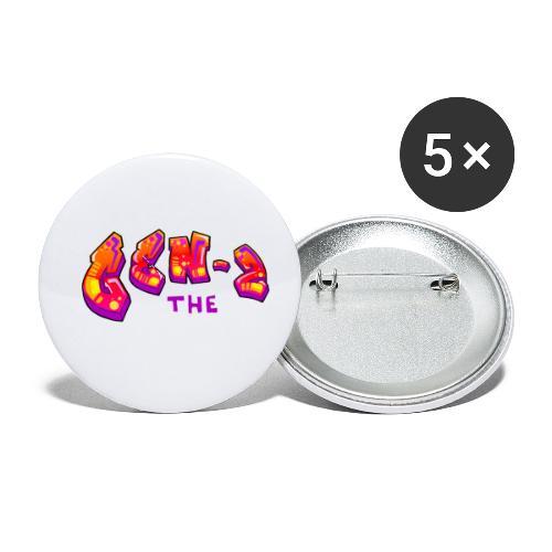Gen Z Musical Logo - Buttons small 1'' (5-pack)
