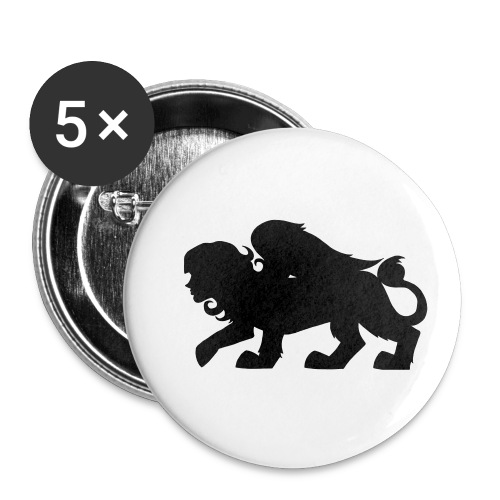 Sphynx Silhouette - Buttons small 1'' (5-pack)