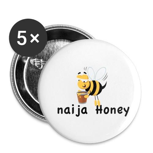 naija honey... - Buttons small 1'' (5-pack)
