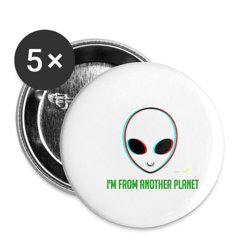 I'm different - Buttons small 1'' (5-pack)