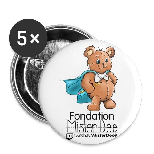 Logo Noir - Buttons small 1'' (5-pack)