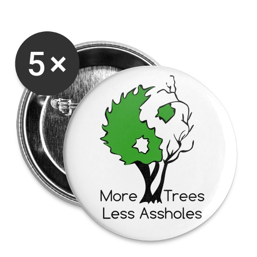 in tree col text - Buttons small 1'' (5-pack)