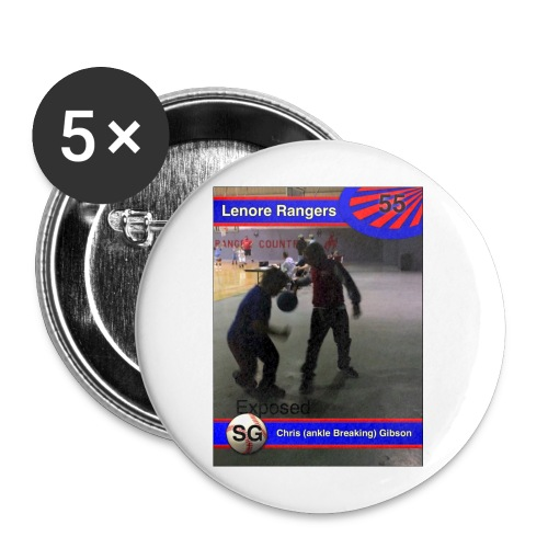 Basketball merch - Buttons small 1'' (5-pack)