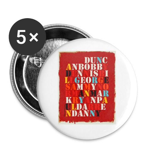Youth - Buttons small 1'' (5-pack)