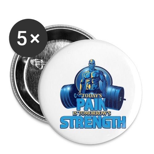 Heavy Lifting Man - Buttons small 1'' (5-pack)