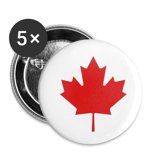 Maple Leaf - Buttons small 1'' (5-pack)