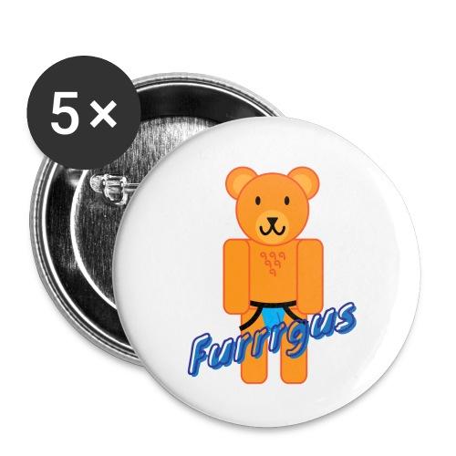 Furrrgus @ Underbear - Buttons small 1'' (5-pack)