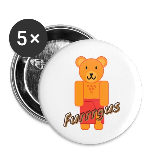 Presidential Suite Furrrgus - Buttons small 1'' (5-pack)