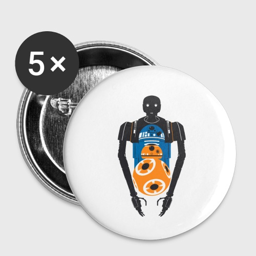 Star Wars Rogue One The Droids You're Looking For - Buttons small 1'' (5-pack)