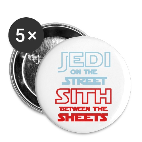 Jedi Sith Awesome Shirt - Buttons small 1'' (5-pack)