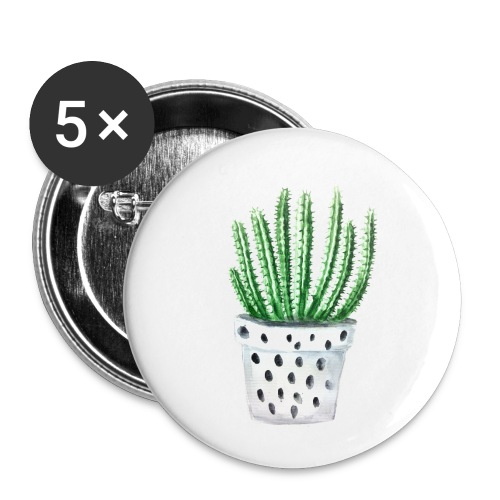 Cactus - Buttons small 1'' (5-pack)
