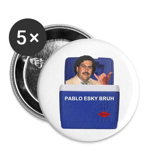 Pablo Esky Bruh - Buttons small 1'' (5-pack)