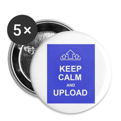 RockoWear Keep Calm - Buttons small 1'' (5-pack)