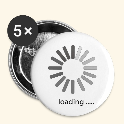 poster 1 loading - Buttons small 1'' (5-pack)