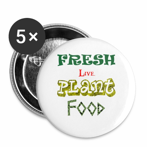 Fresh Live Plant Food - Small Buttons