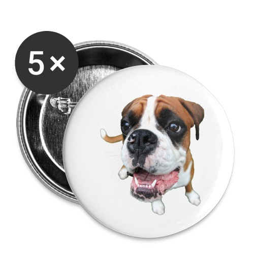 Boxer Rex the dog - Buttons small 1'' (5-pack)